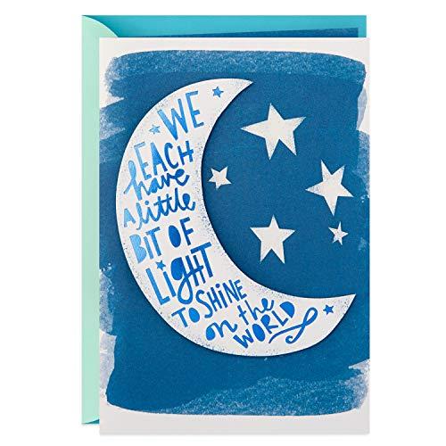 Hallmark Graduation Card (Moon and Stars, You've Only Begun to Shine)