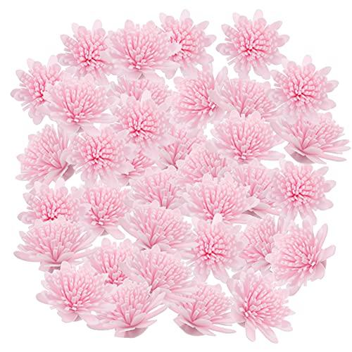 Artibetter 100 Unidades de Difusor de Aromaterapia Difusor de Aceites Esenciales Crisantemo para El Hogar U Oficina Rosa