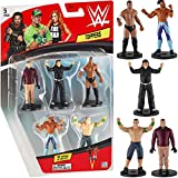 WWE Superstar Pencil Toppers, Set of 5 – WWE Superstars for Writing, Party Decor, Toppers Gifts – Jeff Hardy, Kofi Kingston, John Cena, Finn Balor and More by PMI