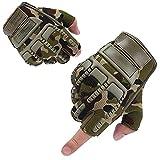 AMIJOUX Guantes de levantamiento de pesas para ejercicio, guantes de entrenamiento para hombres y mujeres, guantes ligeros y transpirables de gimnasio para tirones de escalada con mancuernas