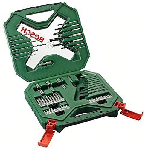Bosch X-Line - Maletín de 60 unidades para taladrar y atornillar