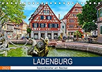 Ladenburg - Spaetmittelalter am Neckar (Tischkalender 2022 DIN A5 quer): Spaziergang durch die Altstadt von Ladenburg (Monatskalender, 14 Seiten )