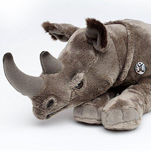 Nashorn PANDOR Rhino Spitzmaulnashorn Breitmaulnashorn 50 cm Plüschtier von Kuscheltiere.biz