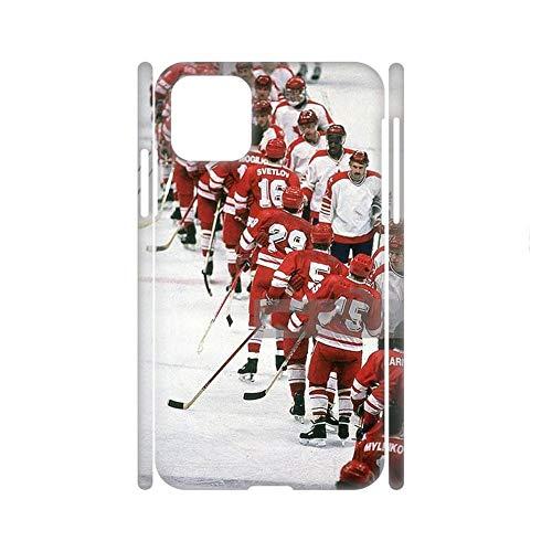 Cajas De Abs En La Moda Impresión Hockey 6 Compatible Apple 6.1 Inch iPhone 12 Pro Chicos Choose Design 137-2