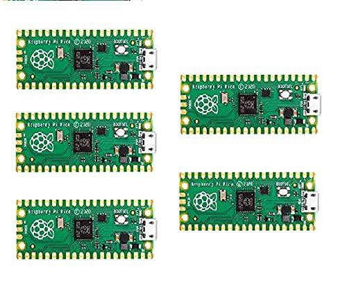 Raspberry Pi Pico ラズベリーパイピコ マイコンRP2040(Arm Cortex-M0+デュアルコア@133MHz (5個)