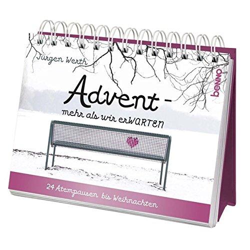 Adventskalender »Advent – mehr als wir erWARTEN«: 24 Atempausen bis Weihnachten