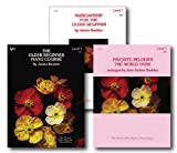 Bastien The Older Beginner Piano Level 1 Library Set - Three Book Pack - Includes The Older Beginner...
