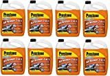 Prestone AS658 Deluxe 3-in-1 Windshield Washer Fluid, 1 Gallon (1 Gallon (Pack of 8))