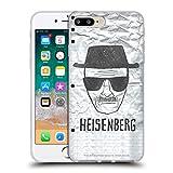 Head Case Designs Licenciado Oficialmente Breaking Bad Heisenberg Gráficos Carcasa de Gel de Silicona Compatible con Apple iPhone 7 Plus/iPhone 8 Plus