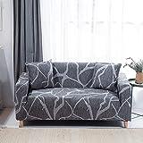 WXQY Funda de sofá elástica combinada Funda de sofá Antideslizante Funda de sofá de Esquina en Forma de L Rush para Proteger la Funda de sofá A23 1 Plaza