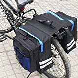 Portaequipajes trasero para ciclismo, sillín para maletero, almacenamiento trasero para bicicleta, bolsa para alforjas, bolsa para bicicleta, asiento para sillín de bicicleta, almacenamiento en rack