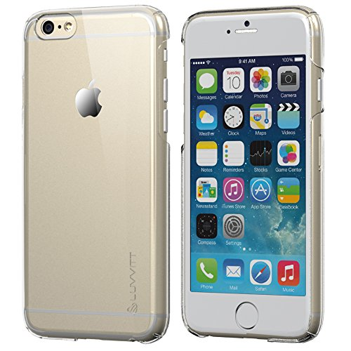 iPhone 6 Case, LUVVITT [Cristal] Hard Shell Anti-Scratch Transparent Clear Back Case for iPhone 6 with 4.7 inch Screen - Crystal Clear