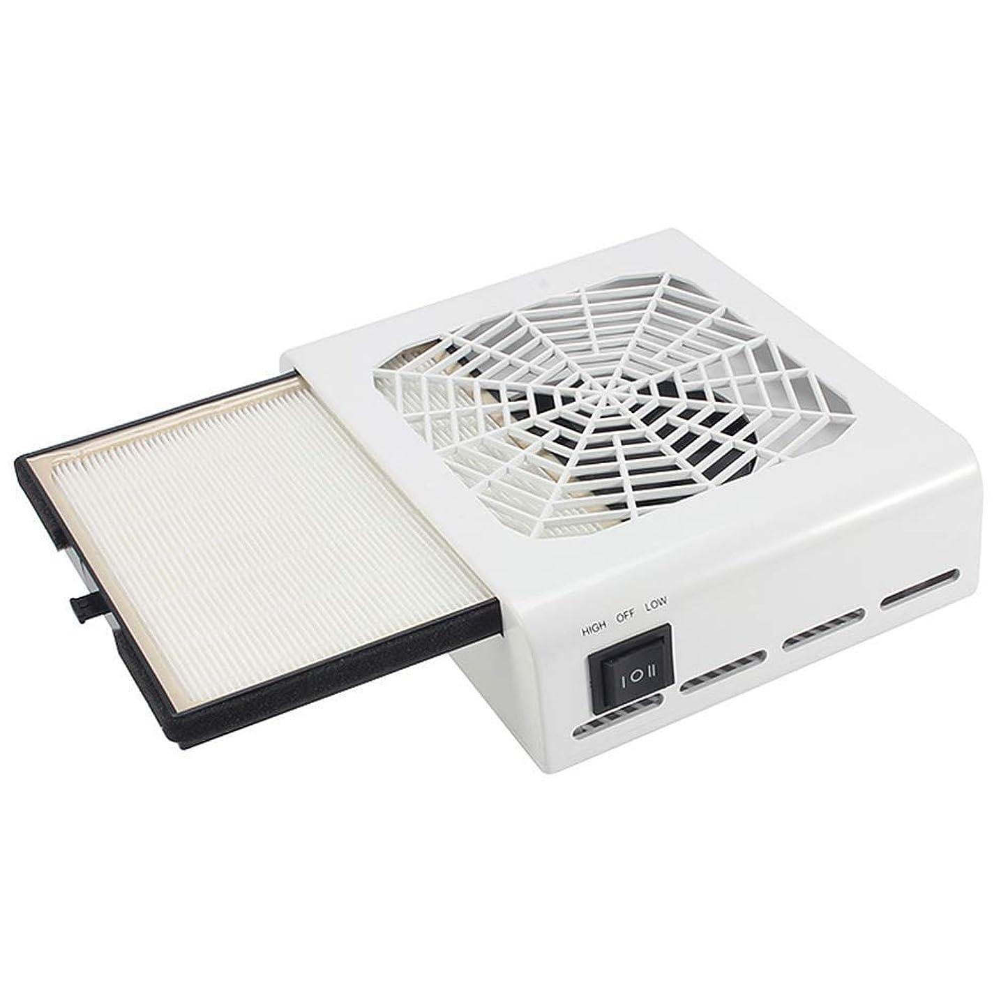 判決細い悲しい45ワット強力な電源ネイルダストコレクター掃除機ネイルファンアートサロン吸引ダストコレクターネイル美容ツールデスク夕暮れキャッチャー