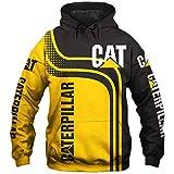 JDY Hommes Hoodies Pour Pullover Sweat-Shirts Nouveau Caterpillar 3D Impression Garçons Décontractée Des Sports Veste...