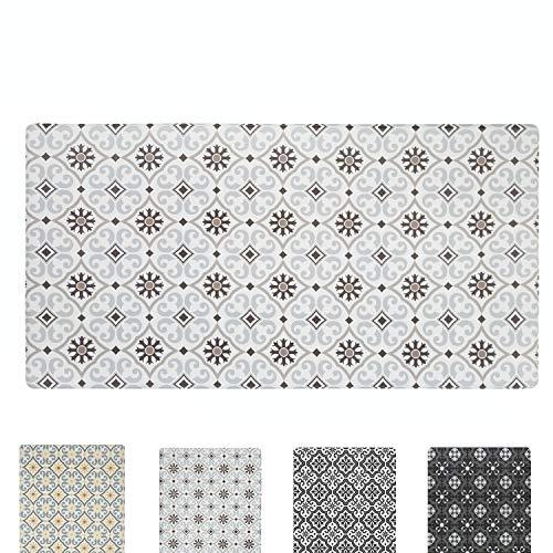 Qsy Home - Alfombrillas antideslizantes para el suelo de la cocina, antideslizantes, resistentes al agua, con bordes biselados de espuma de PVC