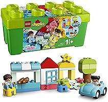 LEGO DUPLO Classic Opbergdoos 10913 eerste LEGO set met opbergdoos, geweldig leerzaam speelgoed voor peuters vanaf 18...