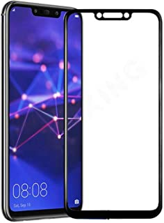 Huawei Mate 20 Lite (6.3) 3D Curved Full Coverage Tempered Glass Screen Protector For Mate 20 Lite Mobile With Black Frame