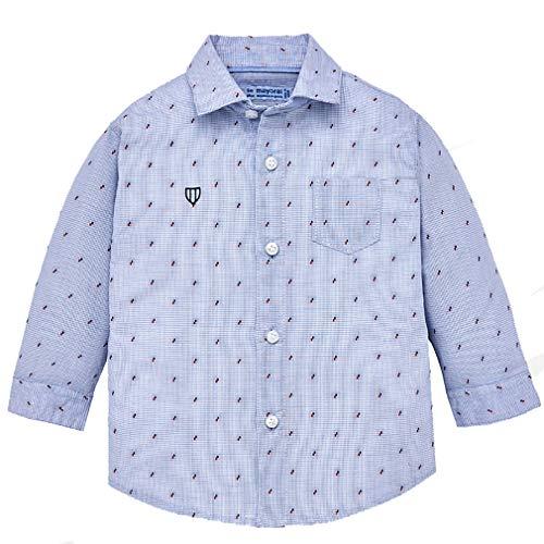 Mayoral - Camisa de manga larga con fantasía, para niño.