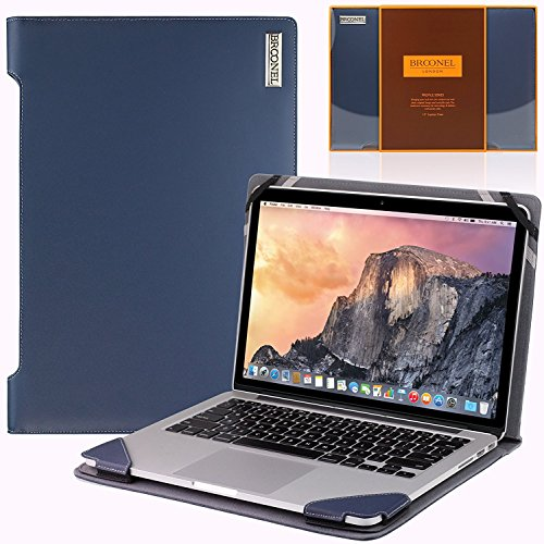 Navitech Broonel London – Profile Series Laptop aus Lila Leder für MacBook Pro 2016 15 inch