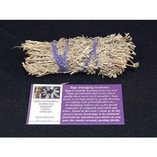 Geschenken en begeleiding Sage Smudge Stick Cleansing Rituele Kruiden