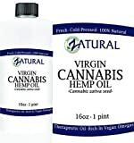 EFFECTIVE: 100% Pure Cold Pressed Hemp Oil provides the highest quality Hemp Oil for all of your uses. EXTERNAL: Hemp Oil can be used for external health and beauty. Apply to skin to moisturize and beautify. Apply to hair to brighten and vitalize. IN...