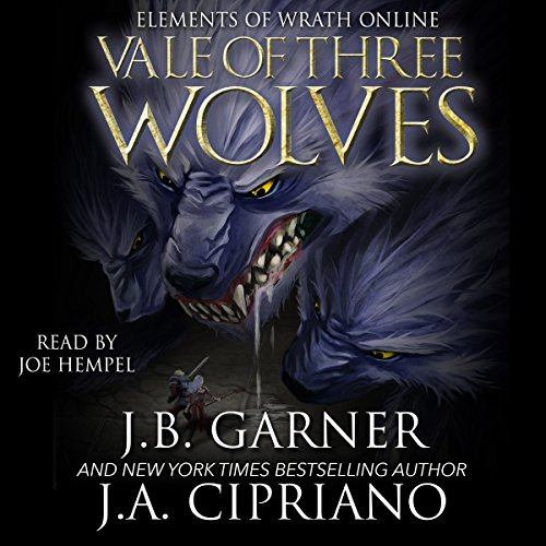 The Vale of Three Wolves audiobook cover art