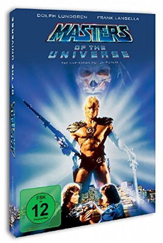 MASTERS OF THE UNIVERSE - MOVI [DVD] [1987]