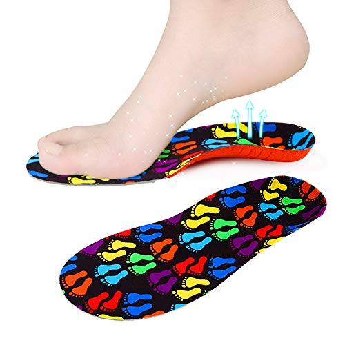 Orthotics Insole Kids - Orthotic Shoes Inserts for Flat Feet and Arch Support (Toddler 8-9.5)