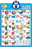 Richgv Interactive Alphabet Poster Educational Toys for Boy and Girl Electronic Talking Wall Poster Learning Toys