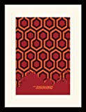 Stanley Kubrick The Shining Carpet Memorabilia, Mehrfarbig,