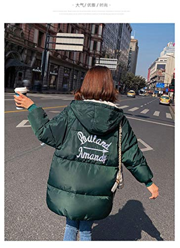 WFSDKN Down jas Down vrouwelijke winter 2019 nieuwe lange sectie van dik brood serveren Koreaanse studenten losse katoenen jas