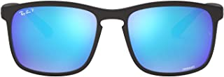 Men's Rb4264 Chromance Mirrored Square Sunglasses