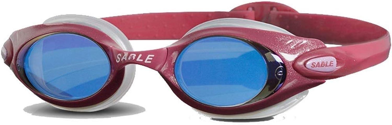 Goggles,HD AntiFog Ladies Swimming Goggles Waterproof AntiFog Coated Swimming Goggles