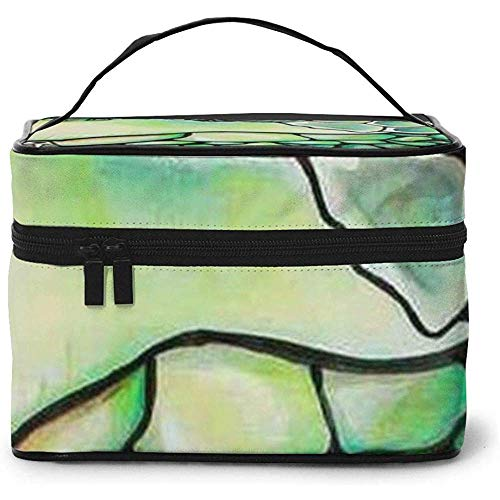 Turtle Head Pattern Portable Ladies Travel Cosmetic Case Bag Storage Makeup Pouch Multi-Function Wash Grand Capacity Makeup Bag