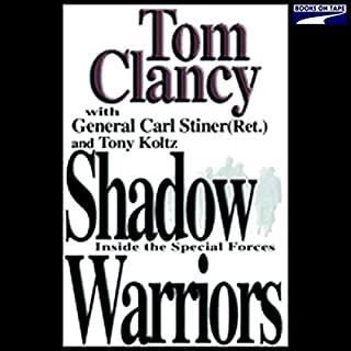 Shadow Warriors audiobook cover art