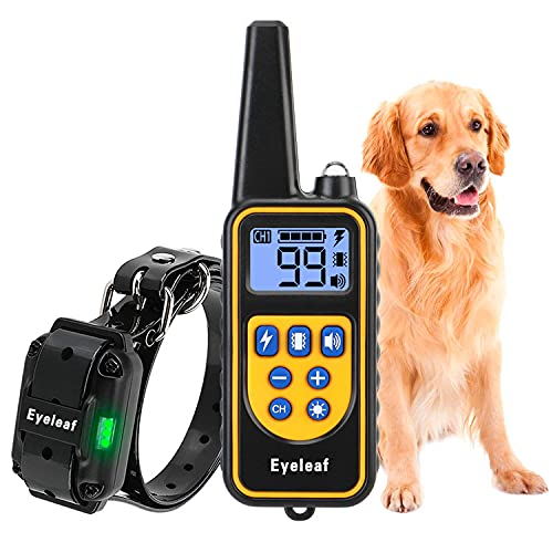 NBJU Bark Collar for Dogs,Rechargeable Anti Barking Training Collar with 7 Adjustable Sensitivity and Intensity Beep Vibration for Small Medium Large Dogs (Green)