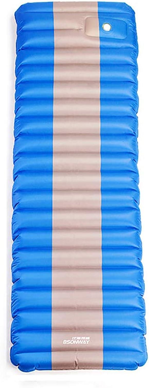 WeeLion Selbstfüllendes aufblasbares Schlafpolster, Wasserdichte gepolsterte Innenmatratze, geeignet für Outdoor Wandern Reisen Camping,Blau