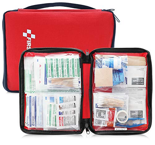 First Aid Only All-Purpose Medical First Aid Kit, 320 Pieces Emergency kit of First aid Supplies (Red-320 Count)