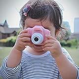 Bebamour Kids Cámara Digital Juguetes para niños de 3 a 8 años Niños Niñas Videocámara Regalos Cámara para niños Impermeable, 1080P HD Video Cámara (Rosado)