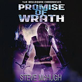 Promise of Wrath     Hellequin Chronicles, Book 6              By:                                                                                                                                 Steve McHugh                               Narrated by:                                                                                                                                 Simon Mattacks                      Length: 13 hrs and 41 mins     891 ratings     Overall 4.6