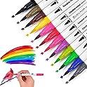 Juwinen 12 Colors Coloring Markers Pens Set