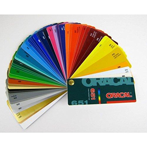 Farbfächer Fächer Oracal 651 Plotterfolie günstig