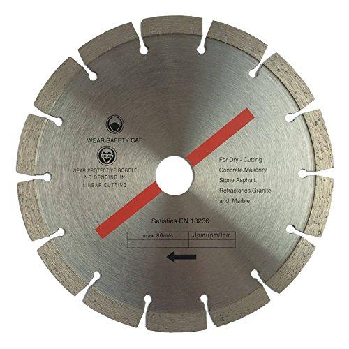 Diamanttrennscheibe 350 x 30 mm segmentiert für Beton, Stahlbeton, Stein, Klinker, etc.