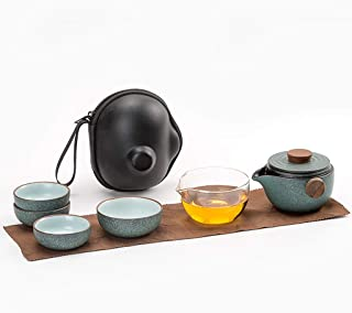 Vintage Grey Ceramic Teapot Tea Drinker Gray /& Navy Teapot Gift for Tea Lover Gray Ceramic Teapot Small Ceramic Teapot in Stoneware Gray