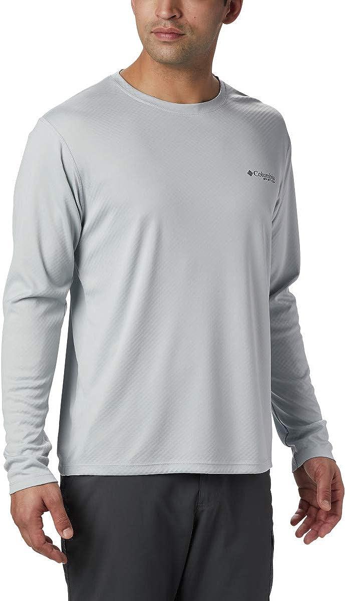 Columbia Courier shipping free shipping Max 76% OFF Men's PFG Zero Shirt Long Sleeve Rules