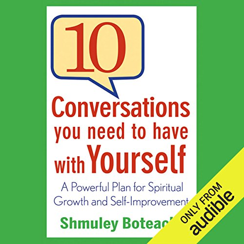 10 Conversations You Need to Have with Yourself audiobook cover art