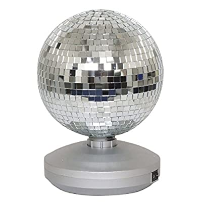 """8"""" Free Standing Mirror Ball Dance Party Set"""