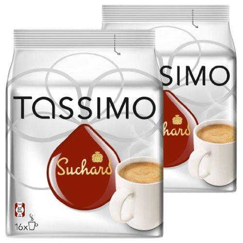 Tassimo Suchard Kakao-Spezialität, Schokolade, Kapsel, 2 x 16 T-Discs