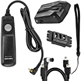 Sevenoak GPS de N Plus alta precisión Receptor geoetiquetador GPS para Nikon D3100 D3200 D3300 D5000 D5100 D5200 D5300 D5500 D7000 D7100 D7200 D600 D610 D800 D810 D700 D750 D200 D300 D90 D4 D3 D2