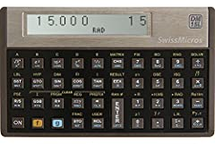 Advanced scientific calculator A clone of the HP-15C at the exact same size as the original Real buttons give an excellent tactile feedback